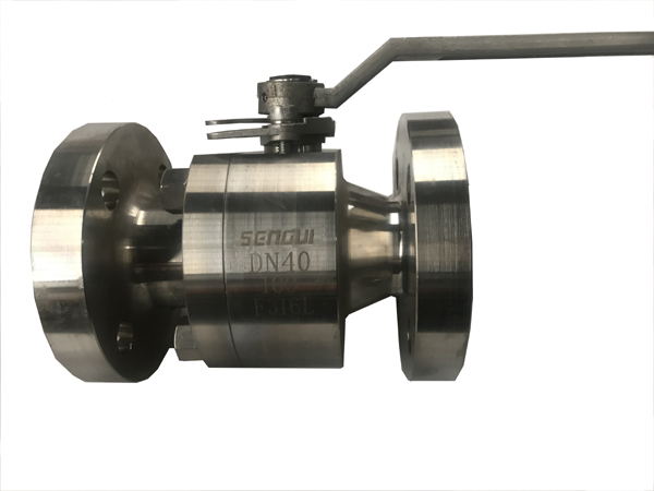 Forged stainless steel ball valve