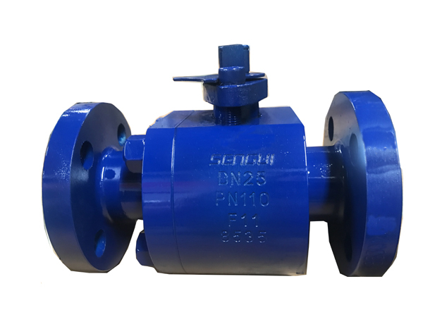 Forged carbon steel ball valve