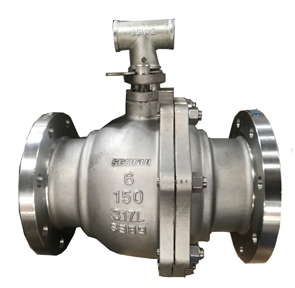 Manual stainless steel ball valve
