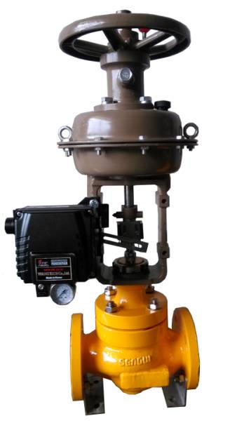 CV3000 Pneumatic Single Seat Regulating Valve